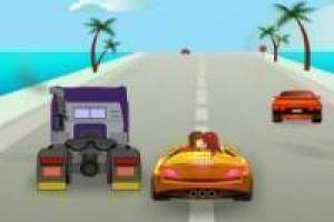 Бесплатно Crazy Kiss Racer Играть